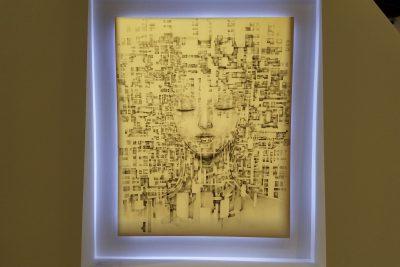 Kyotaro art seen on a Maction Planet Artokyo Art Tour