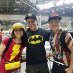 Yoshi Majima, Sen (Mayo Naito) and Mac, Founder of Maction Planet