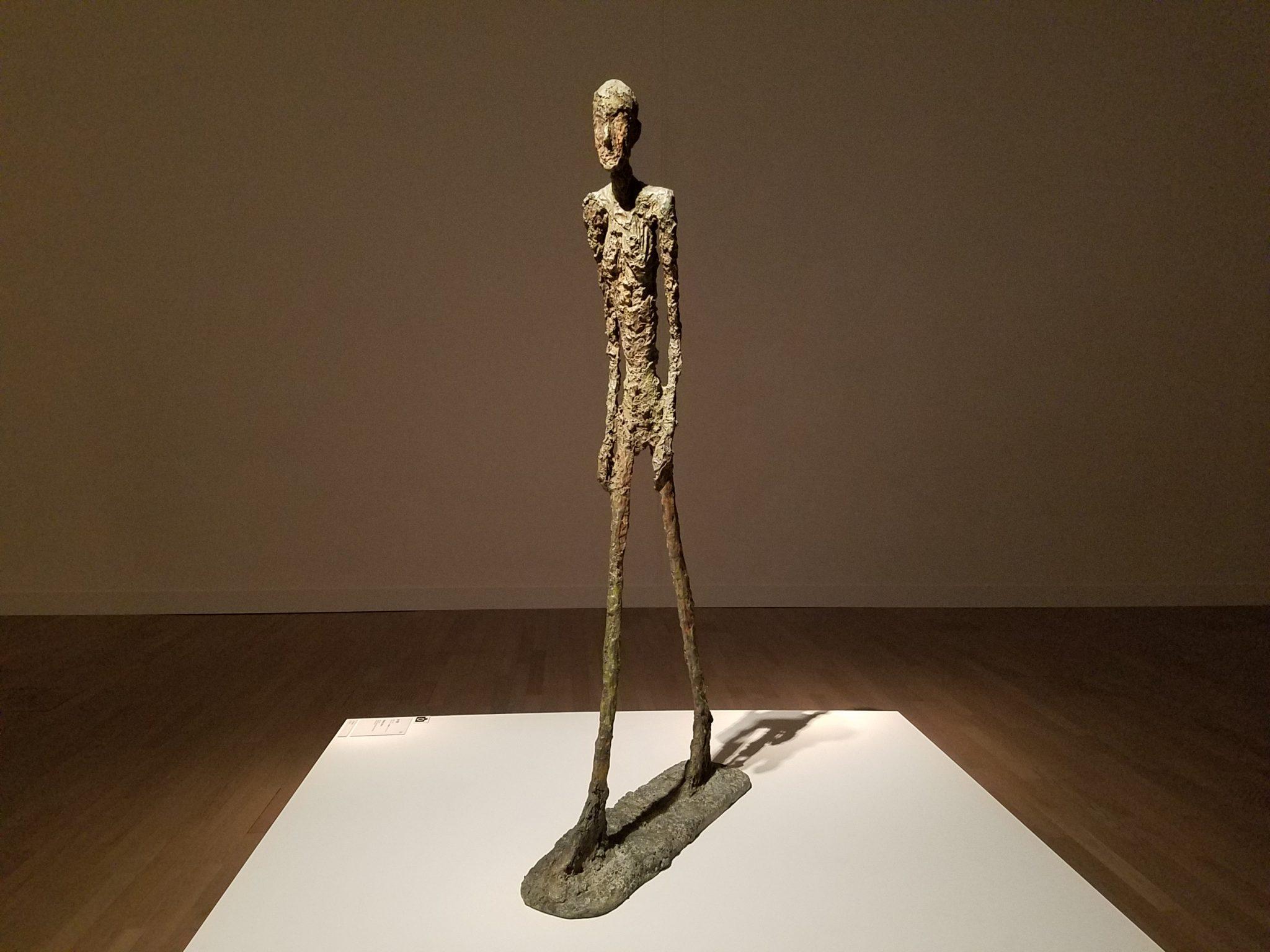Walking Man I, 1960, Bronze, Collection Fondation Marguerite et Aimé Maeght, Saint-Paul de Vence