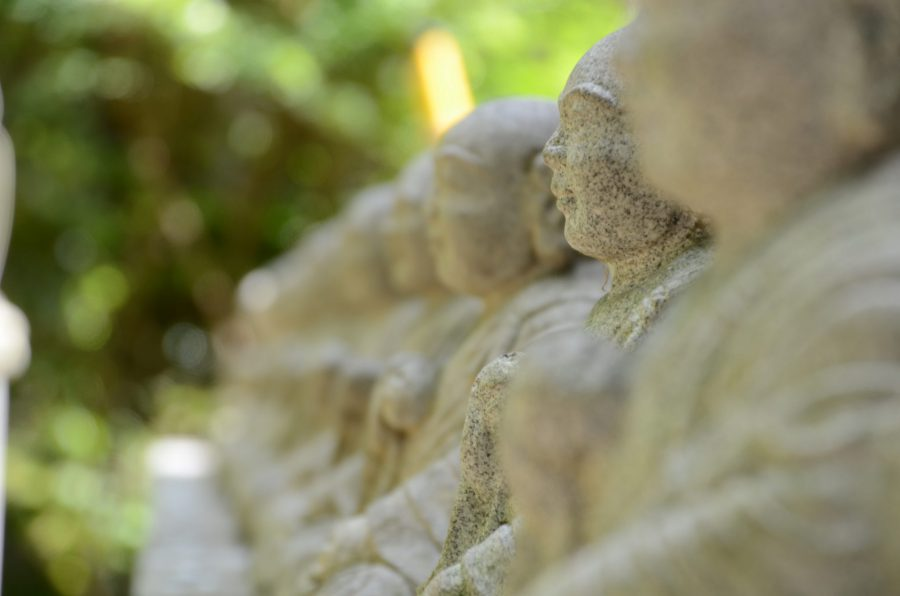 Jizo as seen on a Tokyo Photography Tour