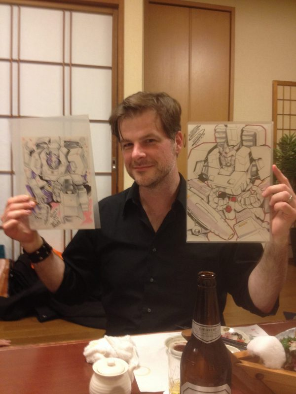 Andrew Griffith, Transformers Artist, talks to Maction Planet