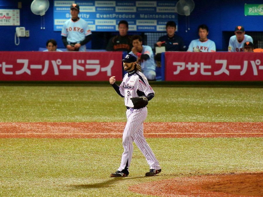 Tony Barnette as seen on a Action Planet Tokyo Baseball Tour