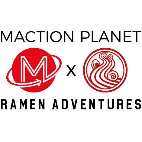 Maction Planet x Ramen Adventures Tokyo T-shirt collaboration