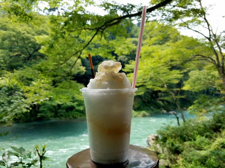 History of Kakigori: Amezake Kakigori enjoyed on a Maction Planet Tokyo Food Tour