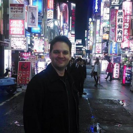 Livio Ramondelli on a Maction Planet Tokyo Private Tour