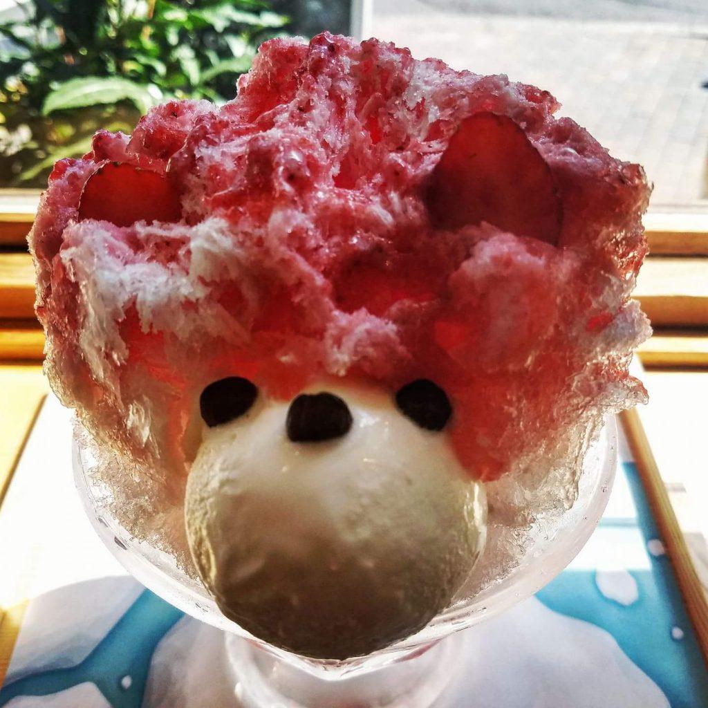 Shirokuma eaten on a Maction Planet Tokyo Private Tour