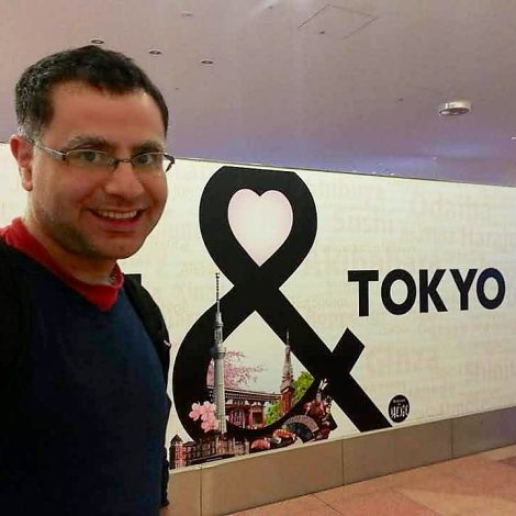 Mac, Founder of Action Planet Tokyo Private Tours