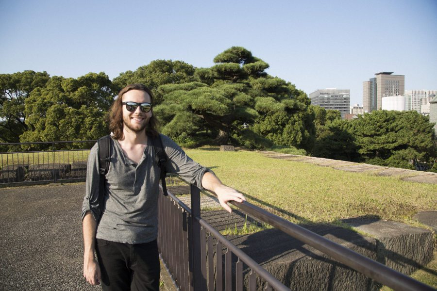 Evan Henderson on a Maction Planet Tokyo Private Tour