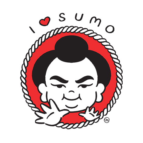 I Love Sumo Maction Planet Tokyo T-shirt design from Marika