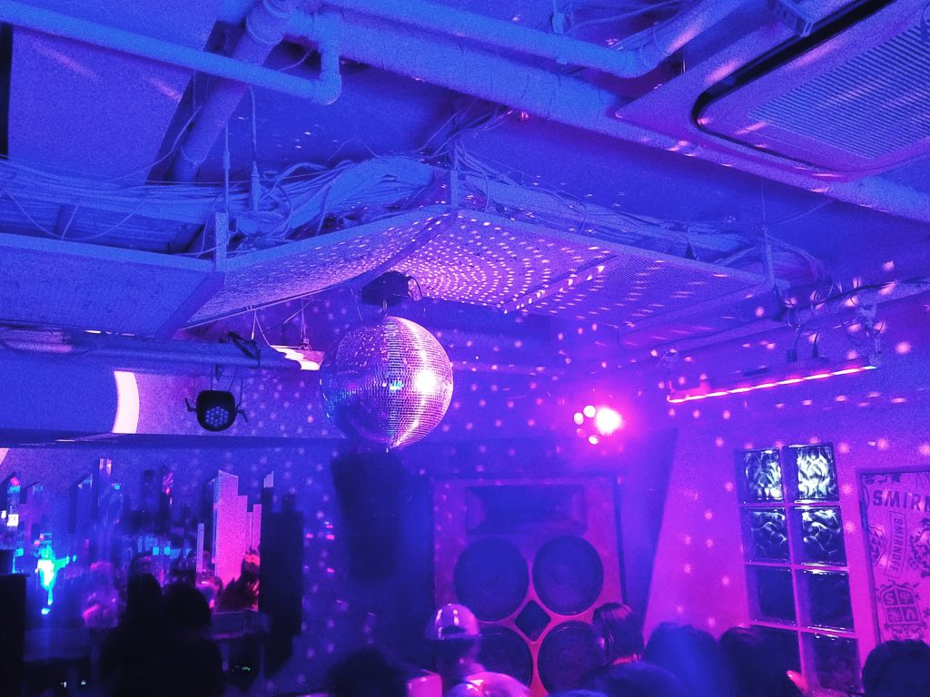 White Lounge, Sound Museum VISION, visited for Mixmag Japan Launch Party on a Maction Planet Tokyo Private Tour