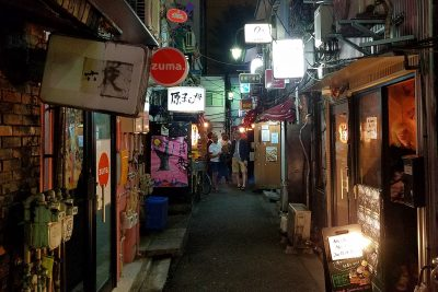 Alleys seen on Maction Planet Private Backstreets of Tokyo Tours
