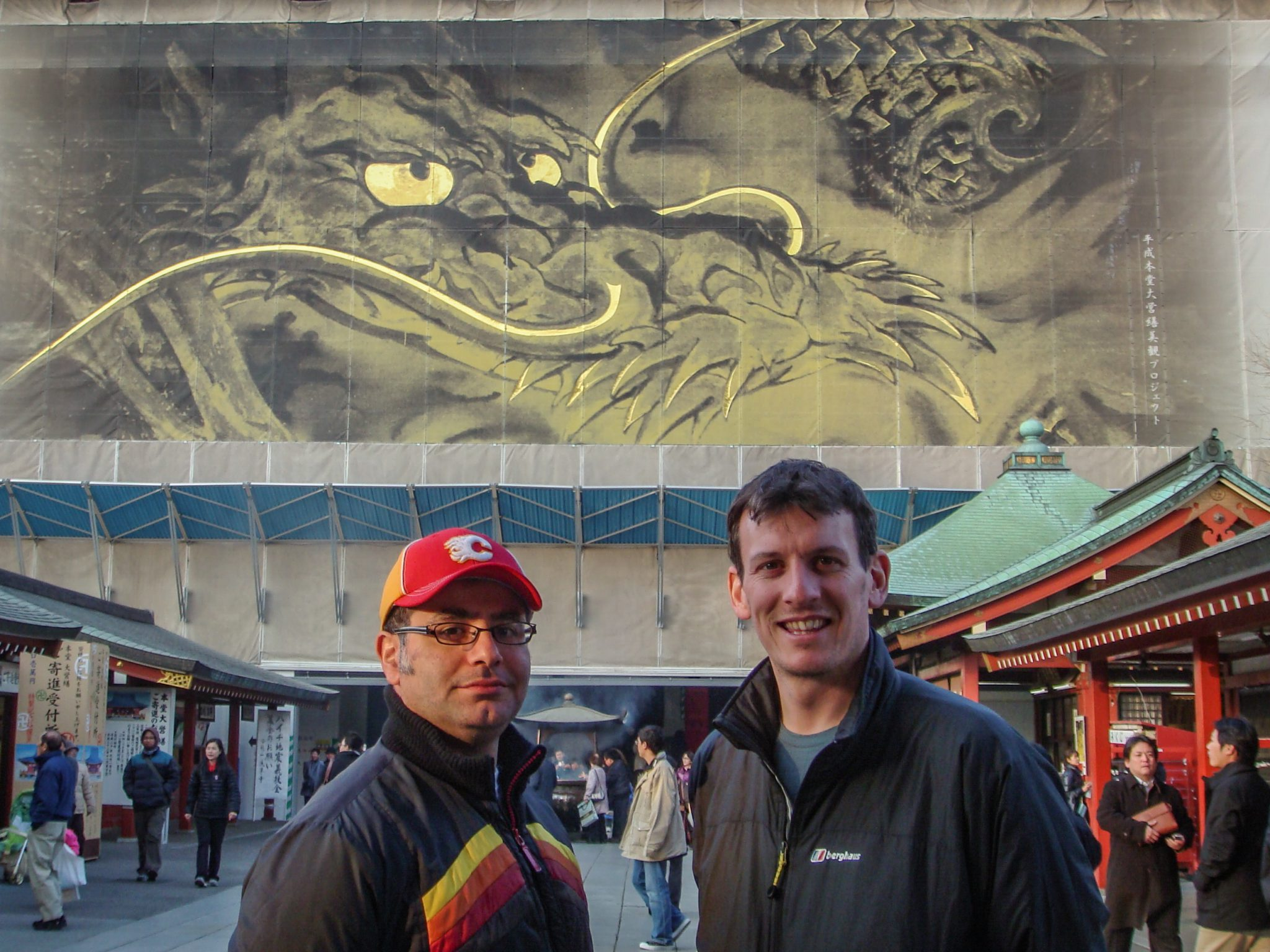 Mac, Founder of Maction Planet leads Chris Steele, Head of Online Retail at ROC on a Tokyo Private Tour