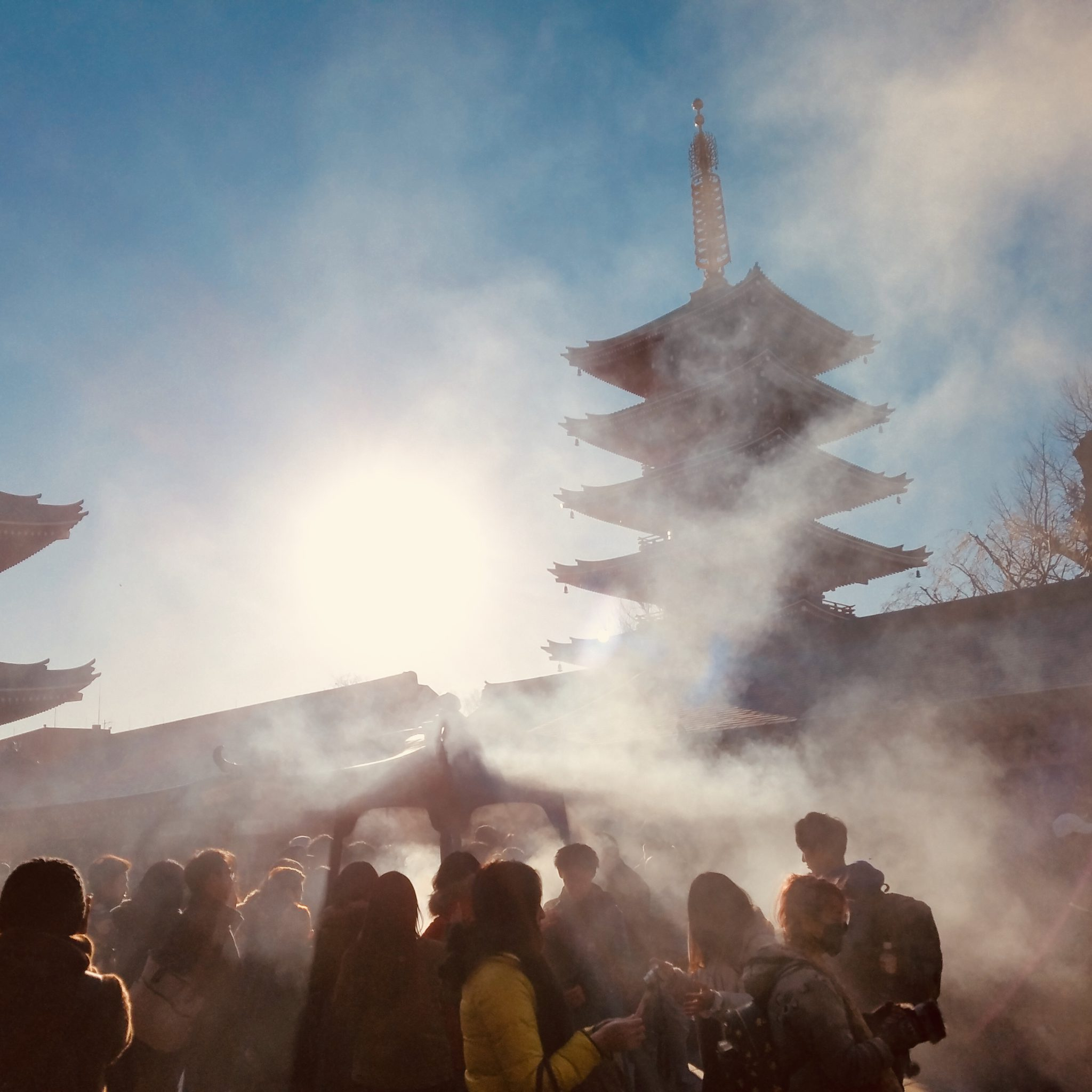 Sensoji Temple seen on a Maction Planet Tokyo Private Tour with the Bolnicks!