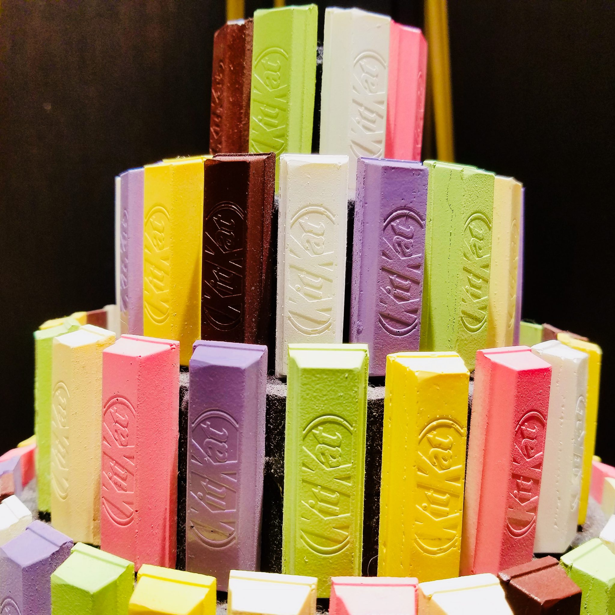 KitKats at the KitKat Chocolatory Ginza seen on a Maction Plane Tokyo Food Tour