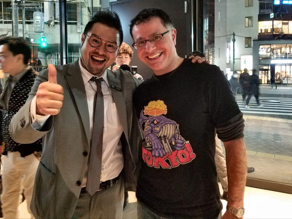 Shigehiro Okada, General Mangaer of hotel koé, and Mac