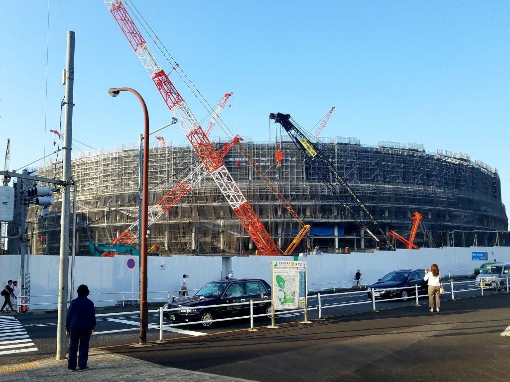 New Olympic Stadium, Tokyo on 7 June 2018