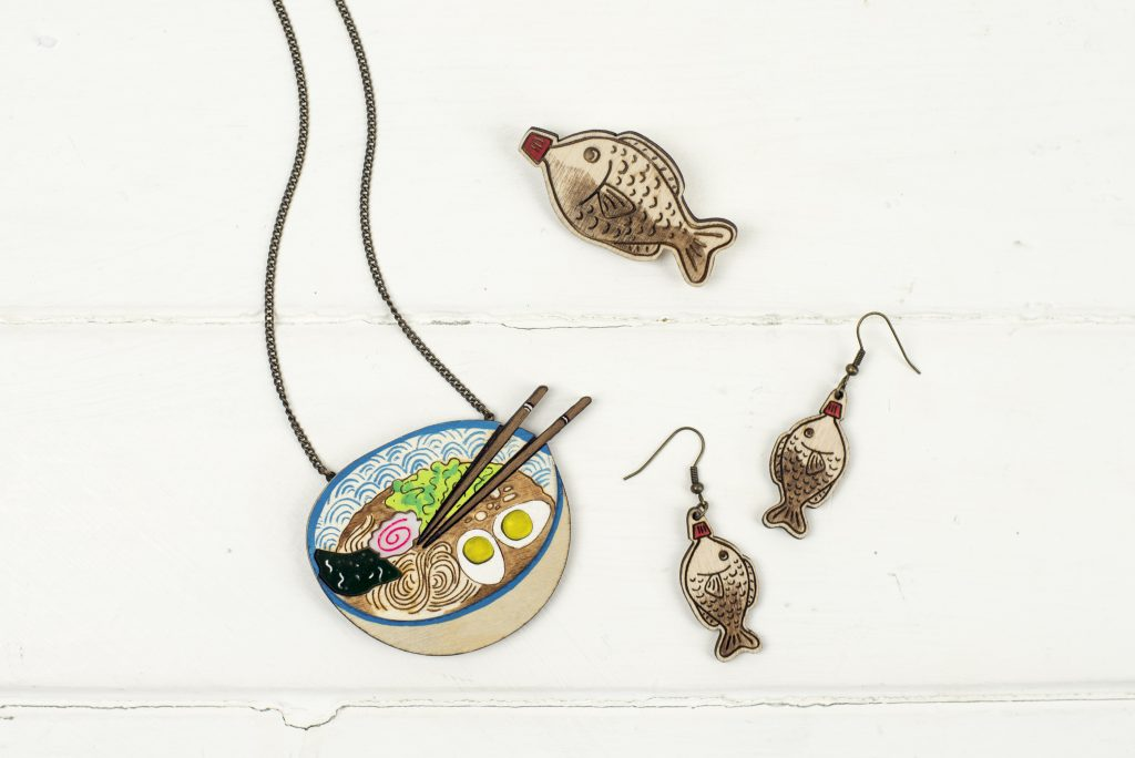 Kate Rowland Ramen Jewellery