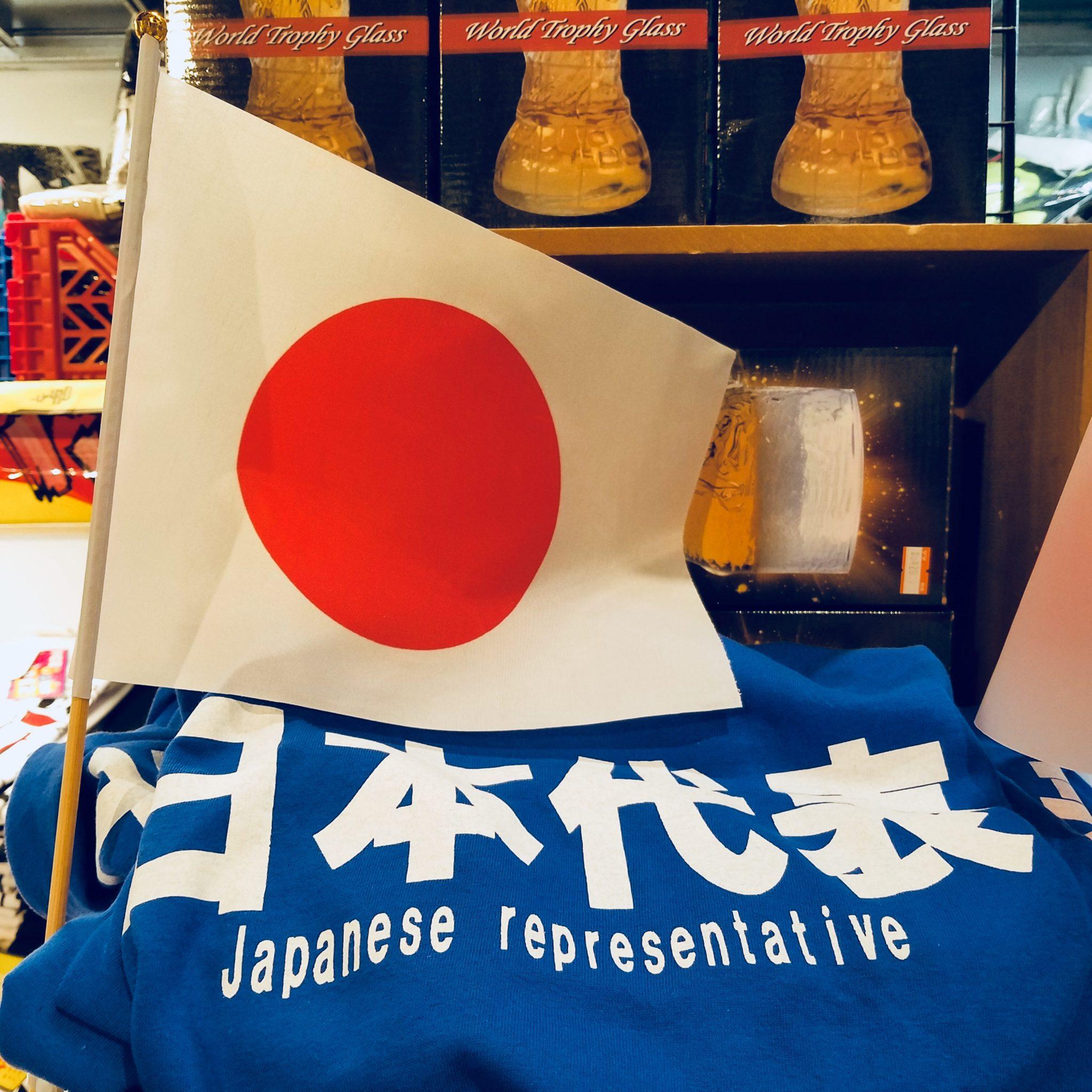 Japan representative T-shirt seen on a Maction Planet Tokyo Private Tour