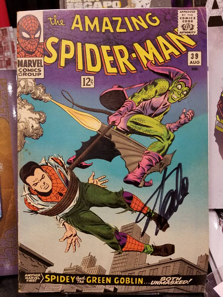 Amazing Spider-Man #39, signed by Stan Lee at NYCC 2016