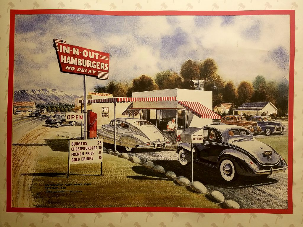 Retro In-N-Out poster