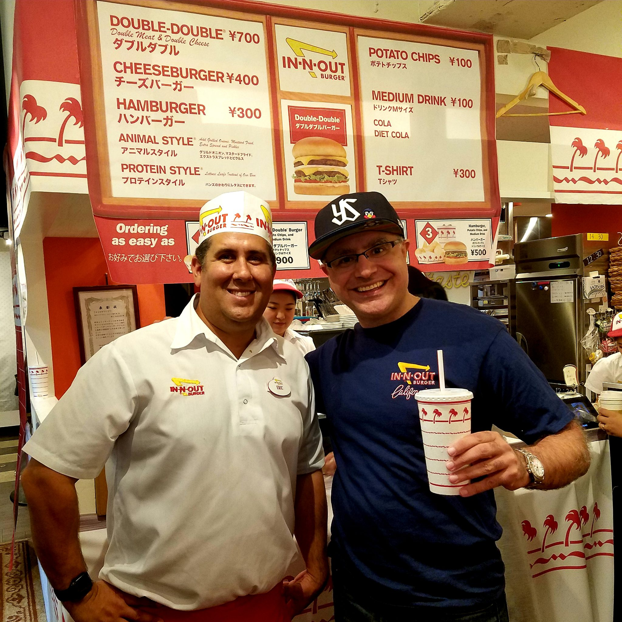 Mac, Founder and Lead Guide of Maction Planet and Eric Billings, Manager of Special Foreign Events at In-N-Out Burger