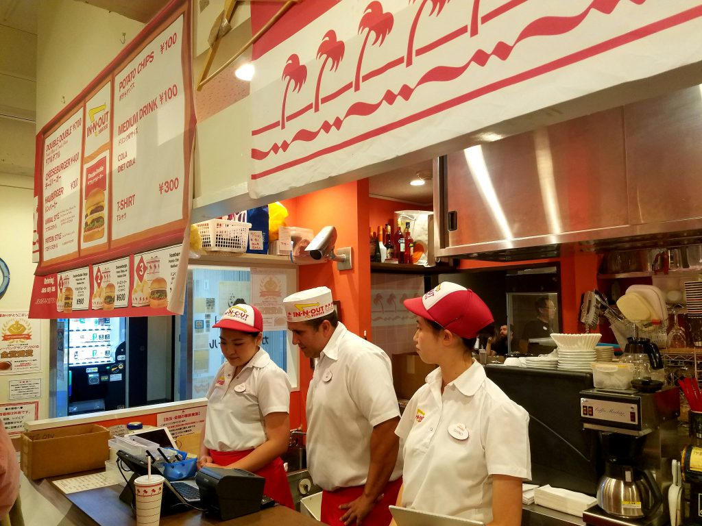 In-N-Out Pop-Up 2018 at Cafe Crowd