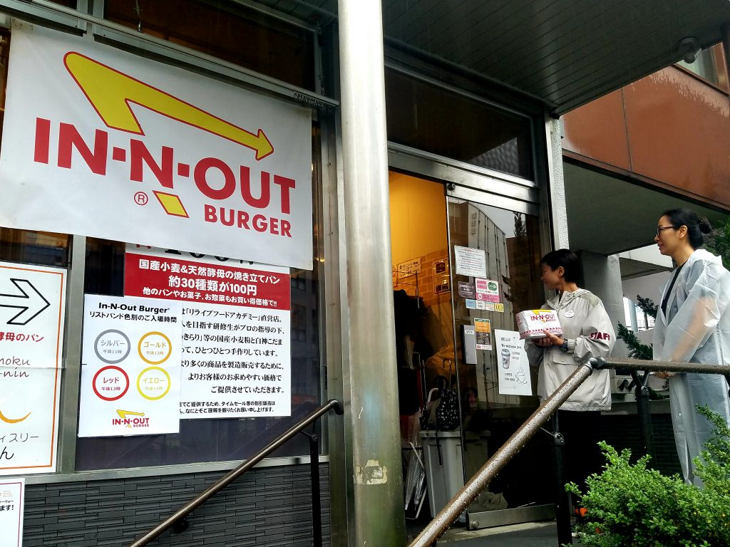 In-N-Out Burger Tokyo Pop-Up 2018 at Cafe Crowd in Yoyogi