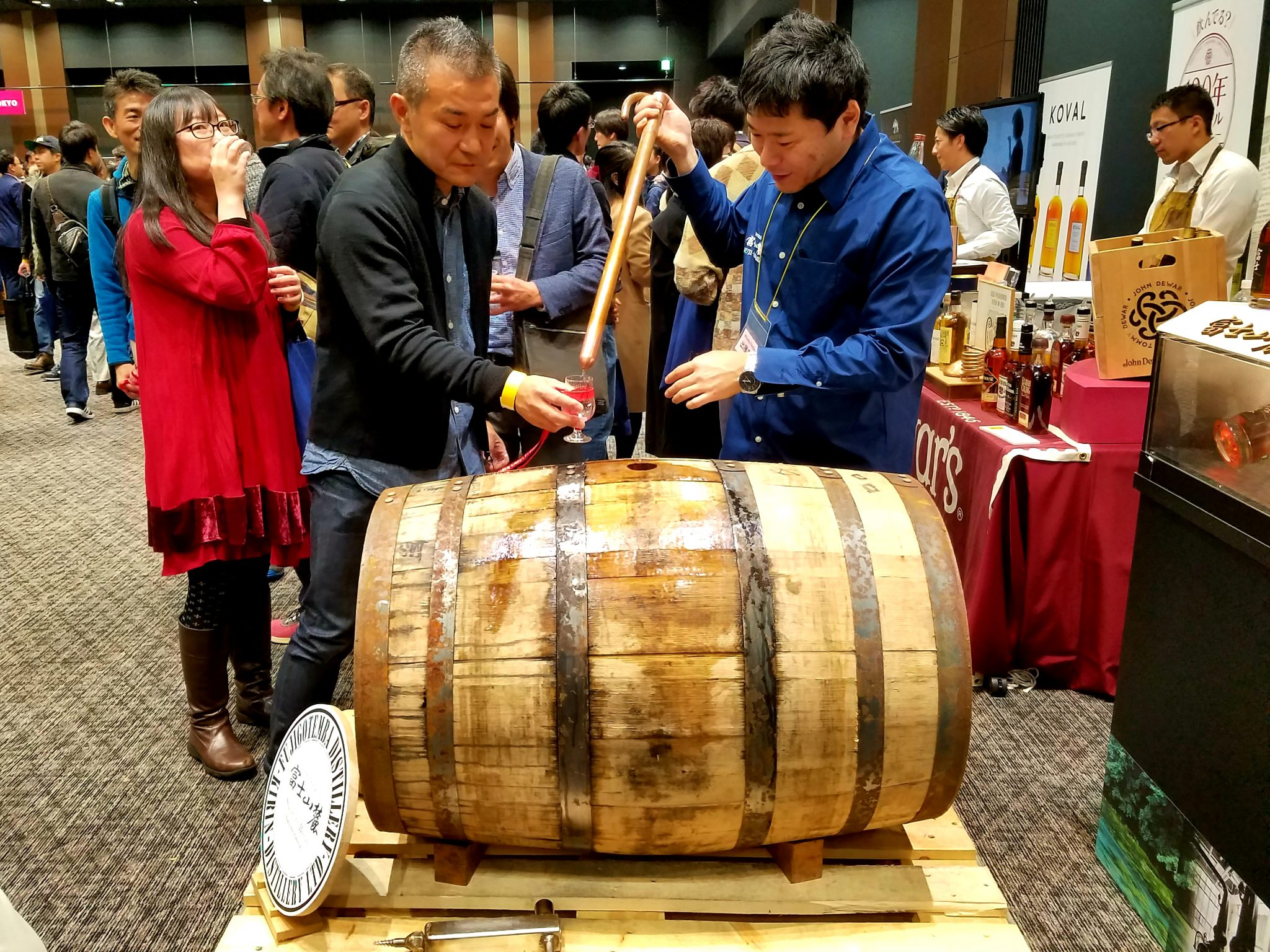Japanese whisky from the barrel: Kirin Fuji-Gotemba Whisky From the Barrel at Tokyo Whisky Festival 2018