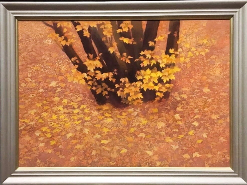 Passing Autumn; 1990; Colour on paper, Nagano Prefectural Shinano Art Museum / Higashiyama Kaii Gallery