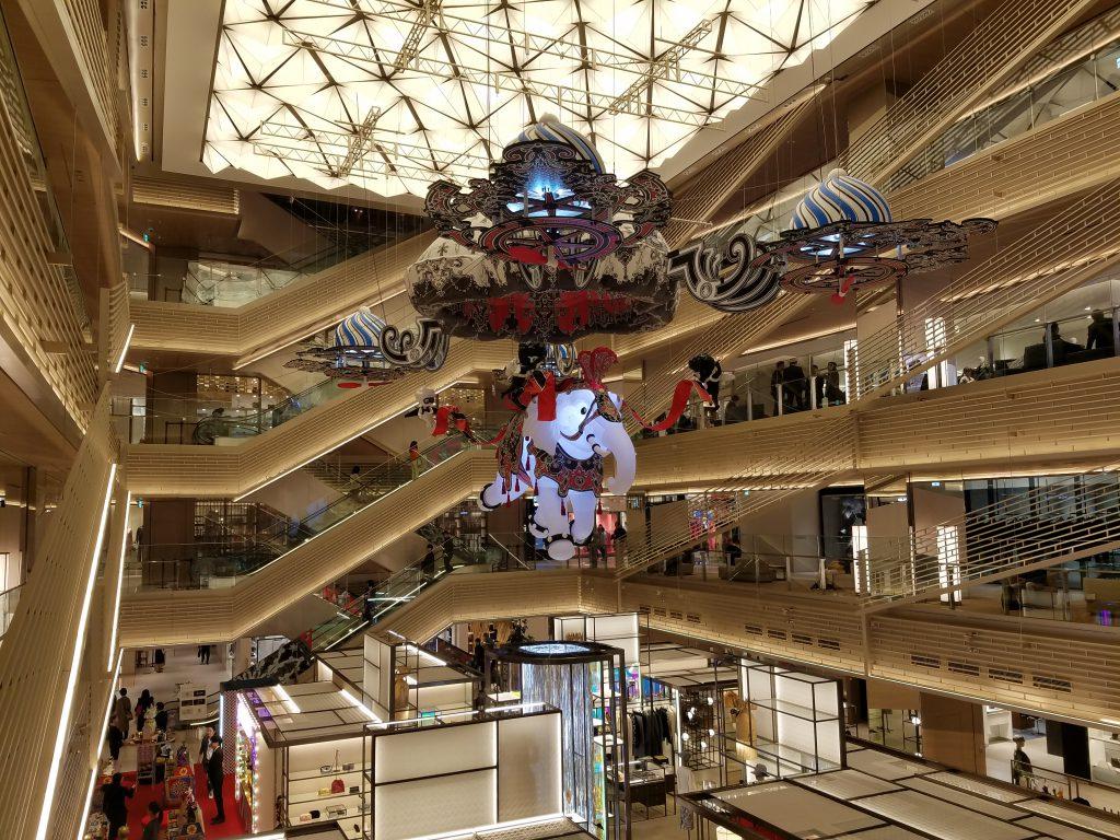 Nicolas Buffe at Ginza Six Christmas 2018