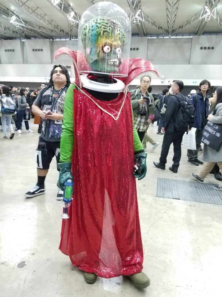 Mars Attacks: 2018 Tokyo Comic Con Cosplay