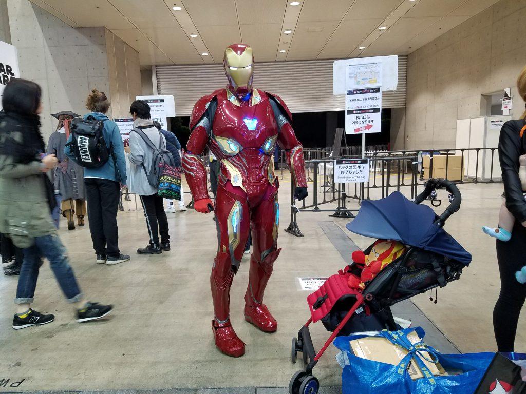 Iron Man: 2018 Tokyo Comic Con Cosplay