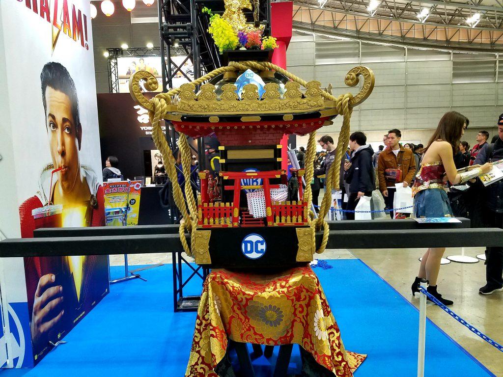 DC Comics Mikoshi at Tokyo Comic Con 2018