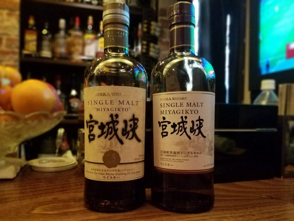 Nikka Miyagikyo Whisky 15 years