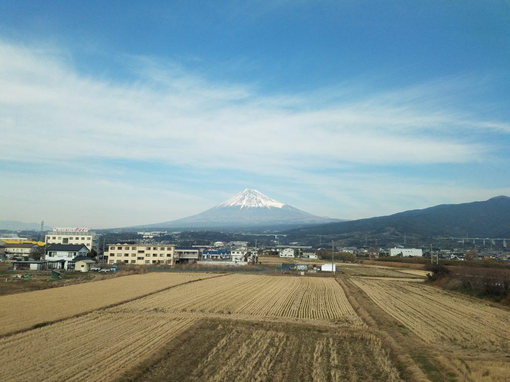No Filter Fuji: Mount Fuji on 8 January 2019
