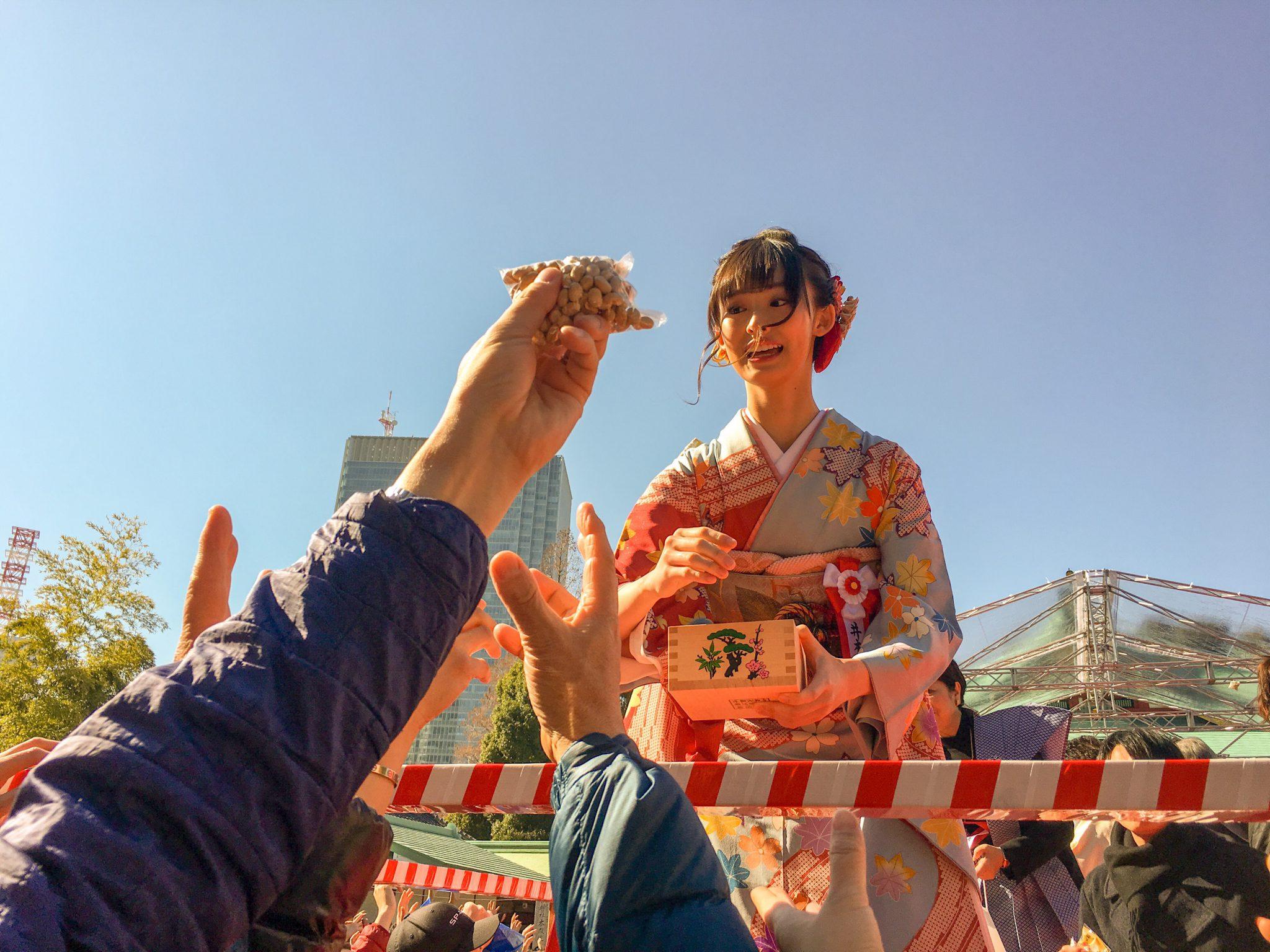 Setsubun 2019 at Sanno Hie Jinja in Akasaka, Tokyo
