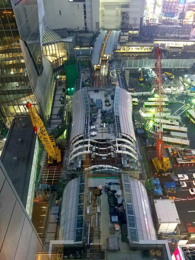 Shibuya Station New Ginza Line