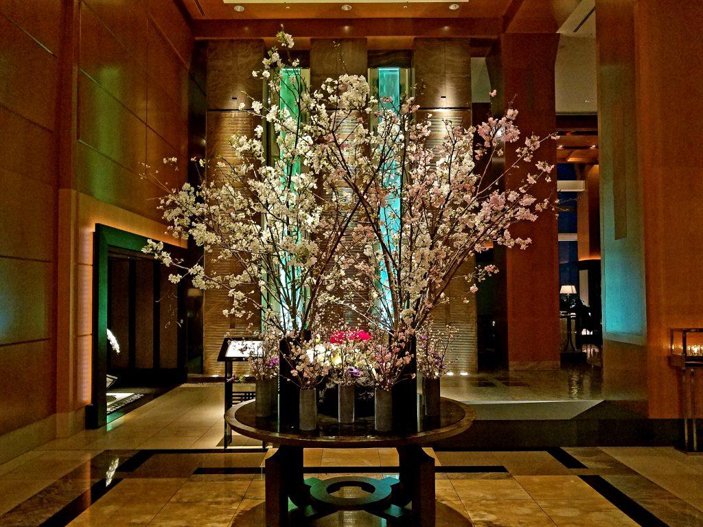 Ritz-Carlton Sakura display 2019