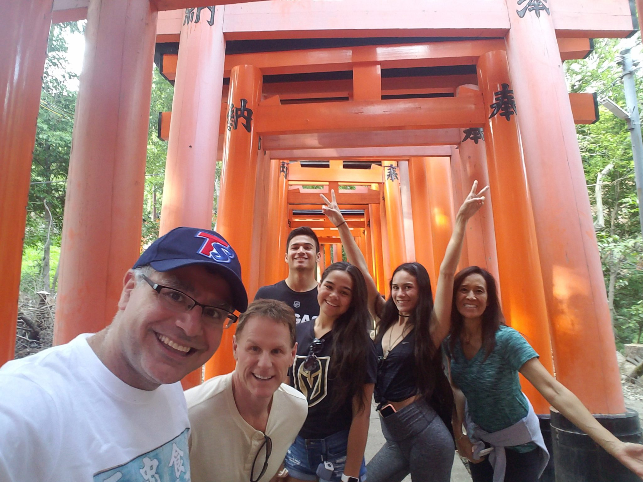 LA(M) Train: The Bradford Family and Mac of Maction Planet at Fushimi Inari Shrine in Kyoto