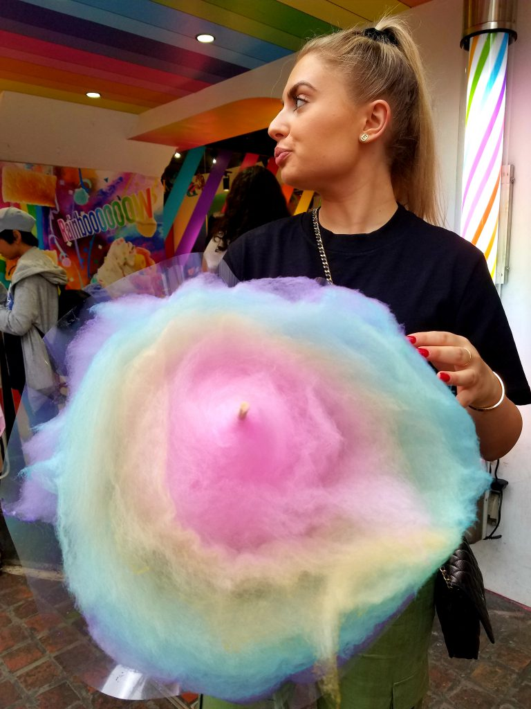 Scarlett Gordon and Tooti Candy Factory Candy Floss