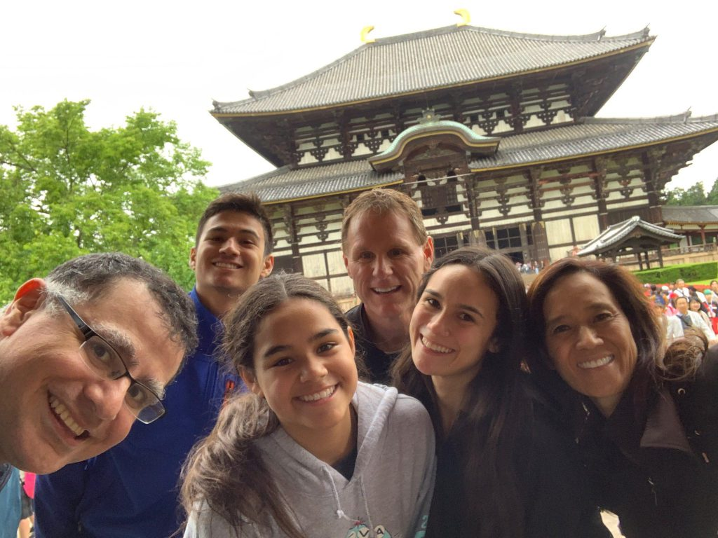 LA(M) Train: The Bradford Family and Mac of Maction Planet at Todaiji in Nara