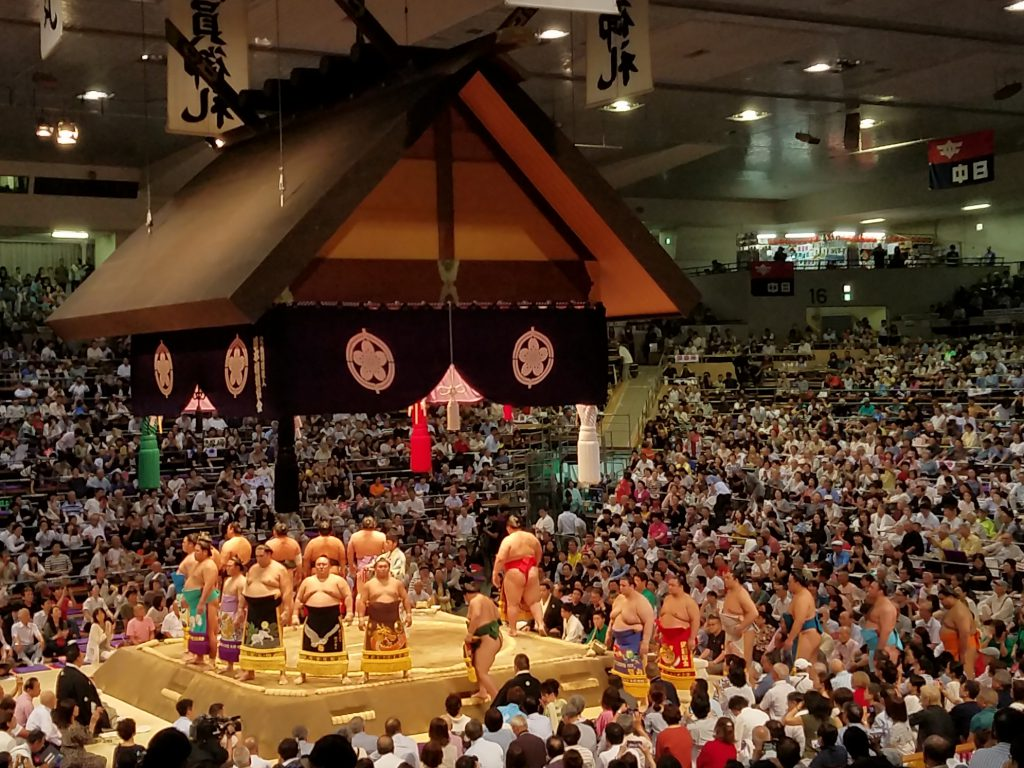Sumo Wrestling in Nagoya