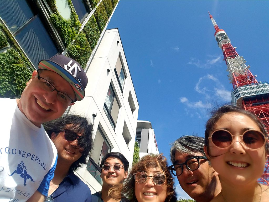 Seo family in Tokyo enjoying some Maction Planet Tokyo Private Tours