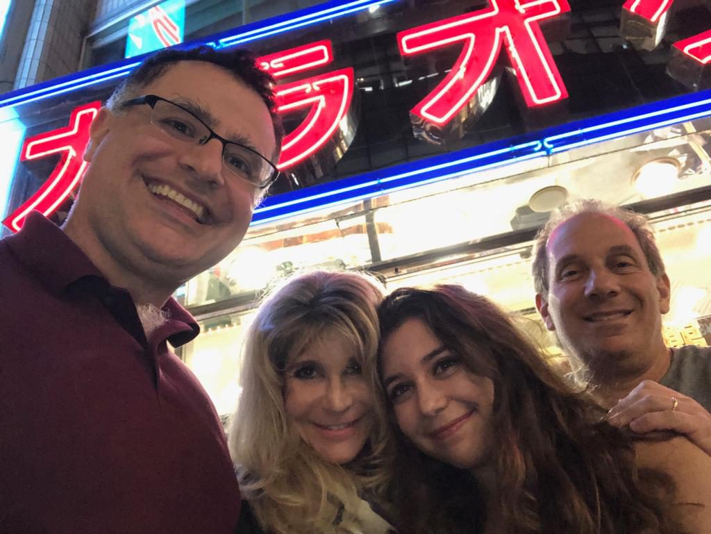Goodbye to Susie, Julie and Mitchell Rice in Tokyo