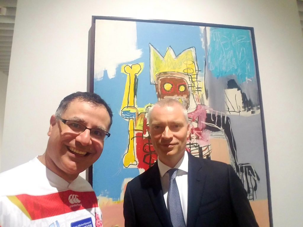 Dieter Buchhart, curator of Jean-Michel Basquiat: Made in Japan with Mac, Founder and Lead Guide of Maction Planet Tokyo Art Tours