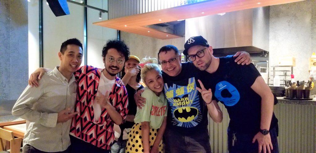 Royce Leong, Namy, Marie Kimishima, Mac, David Watkins