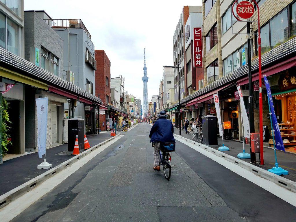 Backstreets of Asakusa
