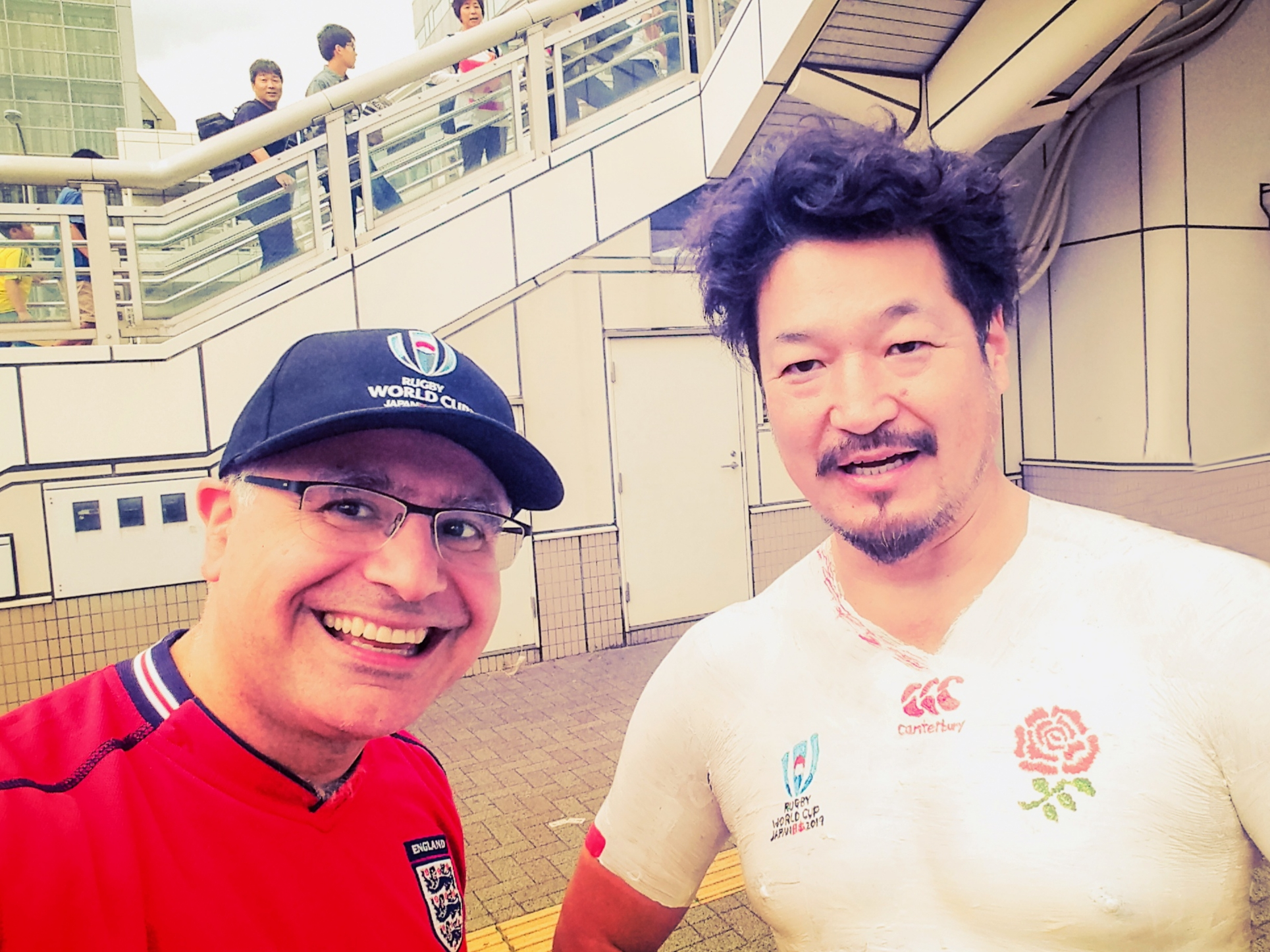Bak-san - Japanese Rugby Superfan - with Mac, Founder and Lead Guide of Maction Planet