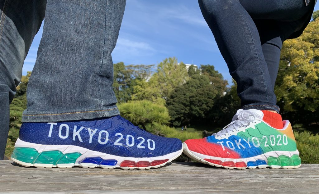 Tokyo 2020 Olympic and Paralympic Asics shoes
