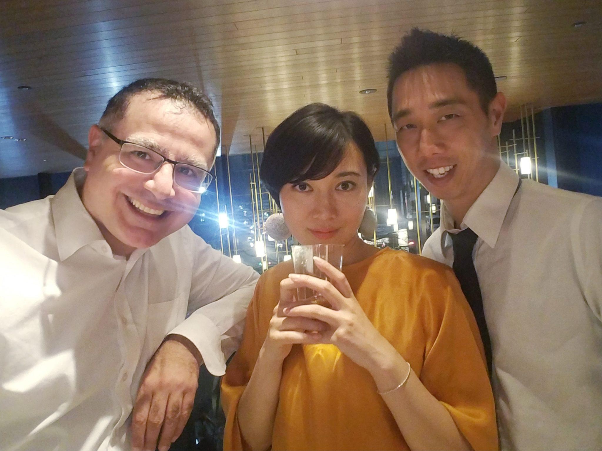 Mac, Royce Leong and Natsu Summer